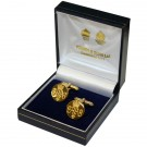 Grenadier Guards Gilt Cufflinks