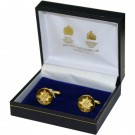 Irish Guards Gilt Cufflinks