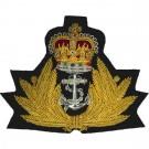 Royal Navy Cap Badge, Officers