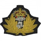 Royal Navy Beret Badge, Officers