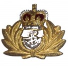 Royal Navy Beret Badge, Officers, Metal