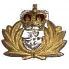 Royal Navy Beret Badge, Officers, Metal