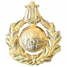 Royal Marines Cap Badge, Musicians