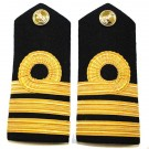 RN Commander Shoulder Boards