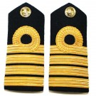 RN Captain Shoulder Boards