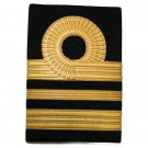 Embossed Rank Slide RN (Lieutenant Commander)