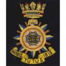 RN Radar Wire Blazer Badge