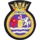 HMS Pembroke Blazer Badge