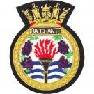 HMS Bacchante Blazer Badge