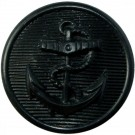 Black Anchor Button (35L)