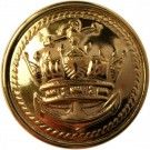 Merchant Navy Button, Anodised (37L)