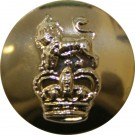 Royal Marines Button, Anodised (23L)