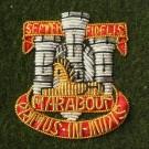 Devon & Dorset Beret Badge, Officers