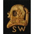 SW Diver On Navy Badge