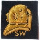 SW Diver On Navy No.1 Dress Badge
