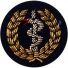 Medic Gold On Navy Badge