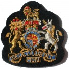 WO1 Gold On Navy No.1 Dress Badge