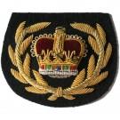 RQMS Gold On Navy No.1 Dress Badge