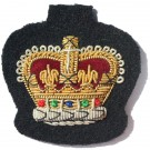 S/Sgt Gold On Navy No.1 Dress Badge