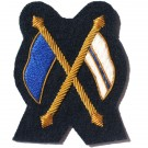 Signaller Gold On Navy No.1 Dress Badge