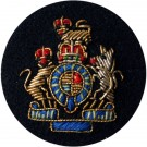 Female WO1 On Navy Dress Badge