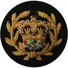 Female RQMS On Navy Badge