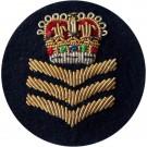 Female S/Sgt On Navy Badge
