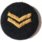 Female Cpl On Navy Badge
