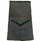 WFR Rank Slides, Olive Green, (L/Cpl)