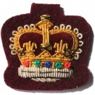 C/Sgt Gold On PARA Maroon Badge
