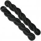 Shoulder Cords Black 2 Ply