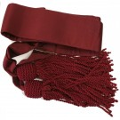 Crimson Sash & Tassels-Small