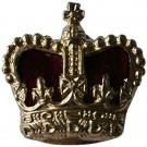"""Crowns Anodised & Velvet 5/8"""""""