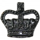 Crowns Black 3/8""