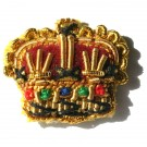 Crowns Gold 3/8""