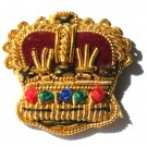 Crowns Gold 5/8""