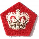 Crowns Scarlet Worsted 5/8""