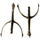 Swan Neck Military Box Spurs
