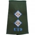 ETS Rank Slides, Olive Green, (Lt)