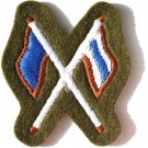 Signaller Khaki Worsted Badge