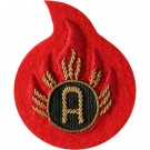 RLC Ammo Examiner (A) Scarlet Badge