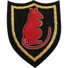 7th Armd Div (Desert Rats) Wire Badge