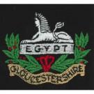 Gloucestershire Regiment Blazer Badge, Silk