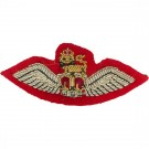 AAC SNCO Mess Wings Scarlet