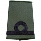 RN Rank Slides, Olive Green, (Sub Lt)