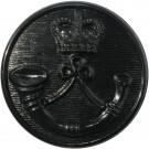 Royal Green Jackets Button, Black (37L)