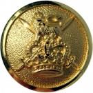Regular Army Button, Blazer (Large)