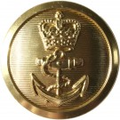 Royal Navy Button, Chief Petty Officer, Shanked (37L)