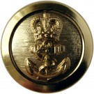 Royal Navy Button, Chief Petty Officer, Shanked (26L)