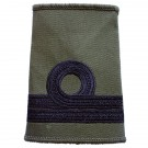 RN Rank Slides, Olive Green, (Commander)